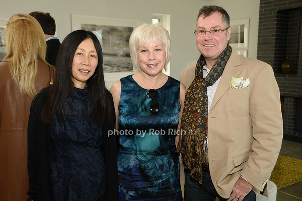 Yoshiko Sato, Barbara Cavanaugh, Tom Farley<br /> photo by Rob Rich © 2010 robwayne1@aol.com 516-676-3939