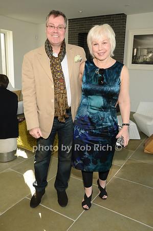 Tom Farley,  Barbara Cavanaugh <br /> photo by Rob Rich © 2010 robwayne1@aol.com 516-676-3939