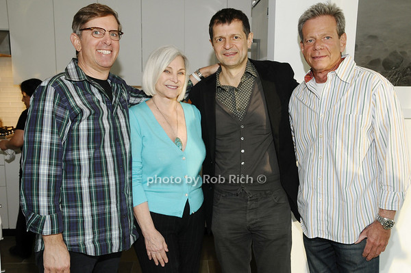 Steve Brown, Gioia diPaolo, Gerry Logue, Steve Saide <br /> photo by Rob Rich © 2010 robwayne1@aol.com 516-676-3939