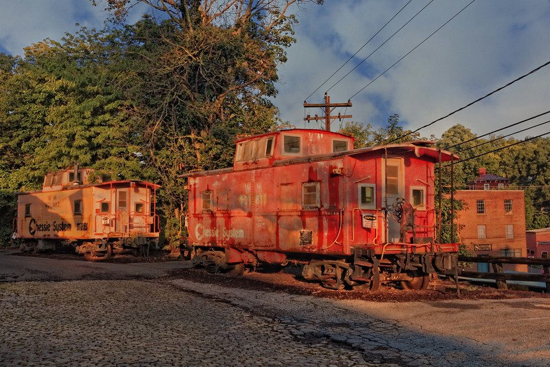 Grounded cabooses, Staunton