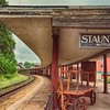 Former train station, Staunton, still seved by Amtrak