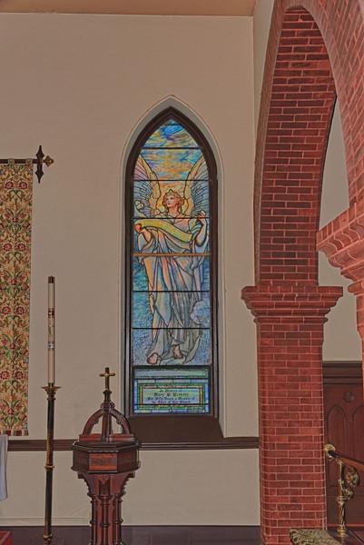 Tiffany Glass Window, Trinity Episcopal Church