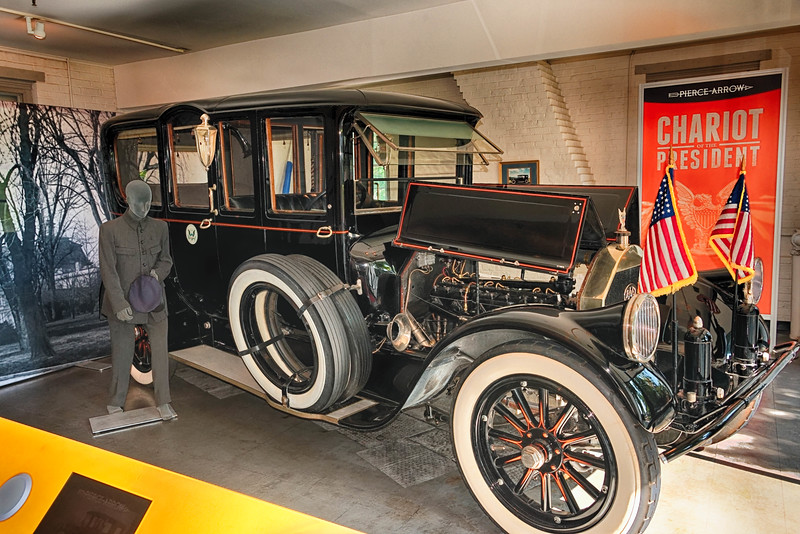 Pierce-Arrow used as President Wilson's car while in office