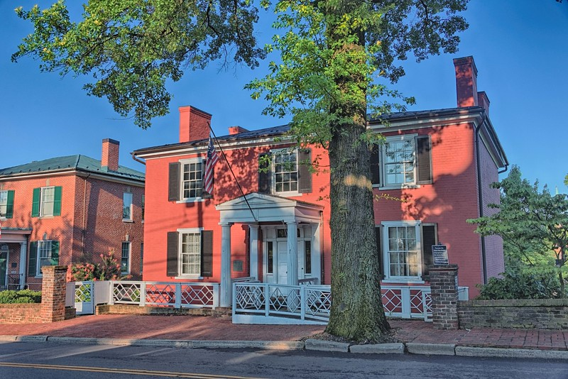 Old Presbyterian Manse where Woodrow Wilson was born in 1856