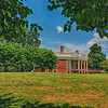 Thomas Jefferson's Poplar Forest home, View 1