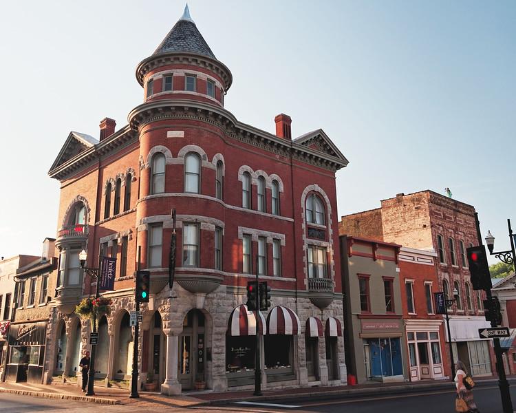 Downtown building, circa 1888, Staunton