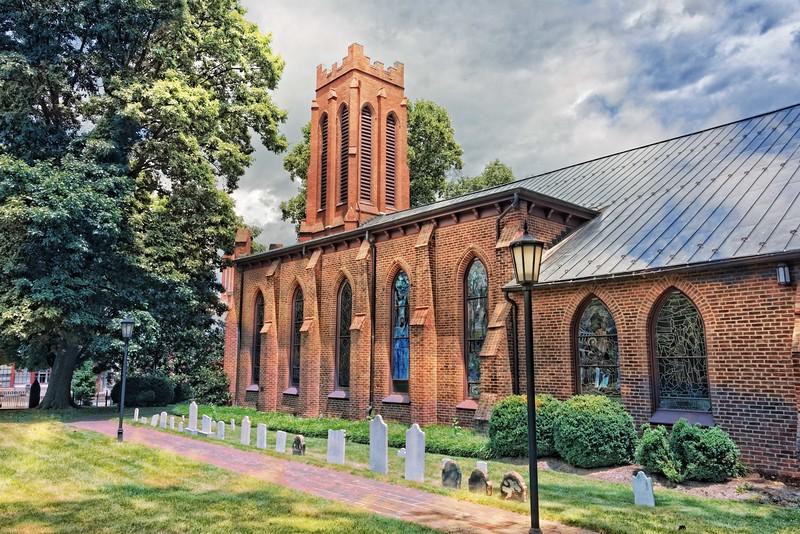 Trinity Episcopal Church, Staunton, 1855