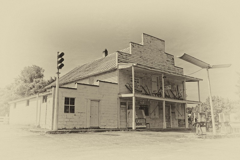 Corner Store, Bedford Highway, Bedford County, VA