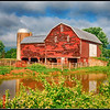 Red Barn on VA highway 340
