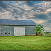 Gray barn on Bent Oak Farm