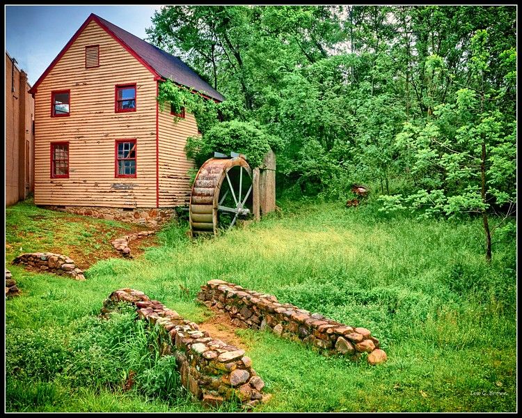 Old Mill on Moose Bottom Road near Shenandoah, VA