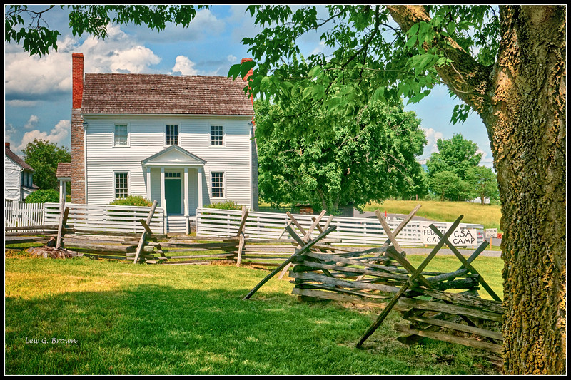Bushong Family Home - Civil War batte of New Market was fought here