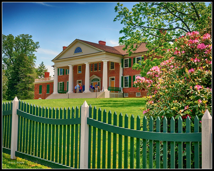 James Madison's Home in Montpelier, VA