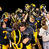 Shenandoah celebrates their sectional championship win over Heritage Christian at Shenandoah on Friday.