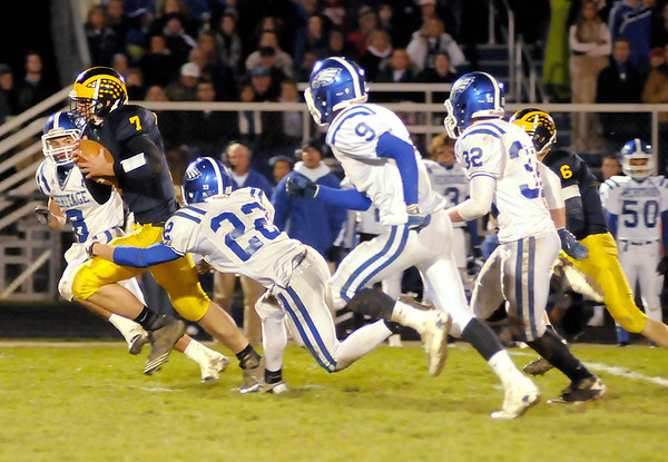 Shenandoah faced Heritage Christian in the sectional final at Shenandoah on Friday.