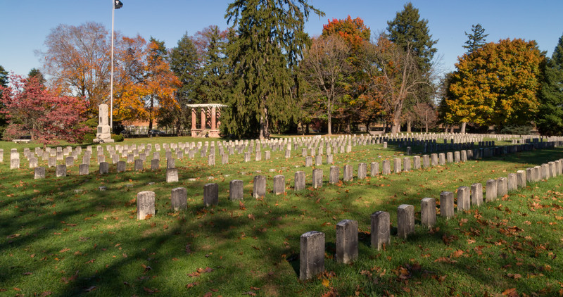 Antietam National Cemetery, Antietam Battlefield