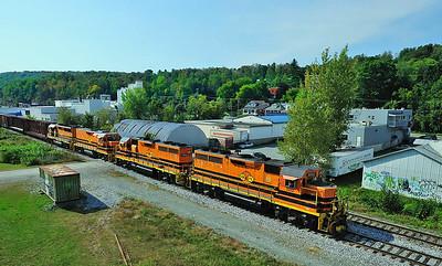 St Lawrence & Atlantic, #393, Sherbrooke, Qc