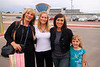 Sister Susan with Jared's wife Tiffany, Leilani and daughter Kaitlin