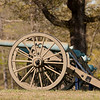 Original cannon at Shiloh