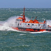 The pilot boat California punches into the Pacific off San Francisco 2013