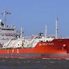 LPG tanker DP Proteus entering Brisbane