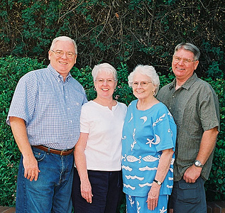 Tim, Teddy (twins) Mom and Scott (Erin Scott)