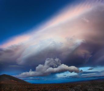 Wild Mojave Desert Skies - Lenticular Cloud Drama