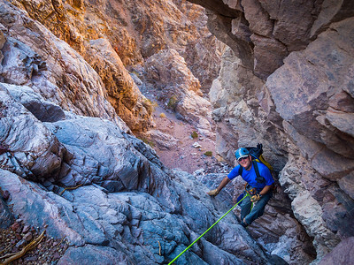 Canyoneering_Lower_Natural_Bridge_Canyon_Death_Valley