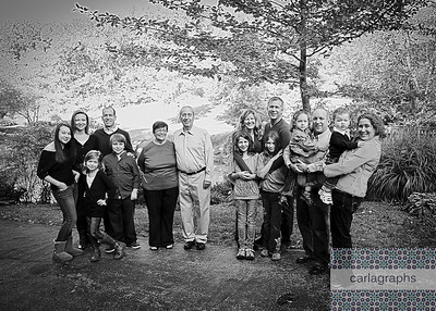Family Groups bw-
