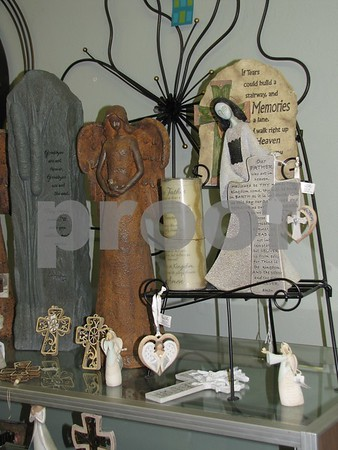 Angel merchandise at 'Mary Kay's Gifts and Interiors'