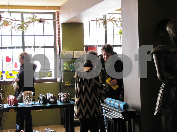 Shoppers at 'Studio Fusion'