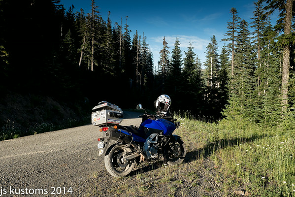 short ride into the hills 7-30-14