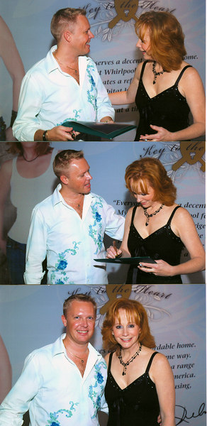 Got to go see Reba McEntire at the Las Vegas Hilton for my birthday 7/26/06 and had a meet & greet with her afterwards.