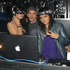 After the party I ran over to one of my favorite club's whisper to check out the crowd.  I ran into Dino Minelli who is now representing these hot NYC DJ's Kissette, who were spinning Saturday night at the club.  Friday night Jason Statham was in the house. Saturday VH1's Steve Ward.
