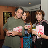 "Paul Santoleri, Helena Espvall and Kim Alsbrook.  Paul is a muralist, and was in a short film shown before ""Love Letters"" about a mural he did with two others called ""Cosmic Terrarium"".  The screening provided popcorn and pop, yum. Privately owned, ""Love Letters"" will play again in February."