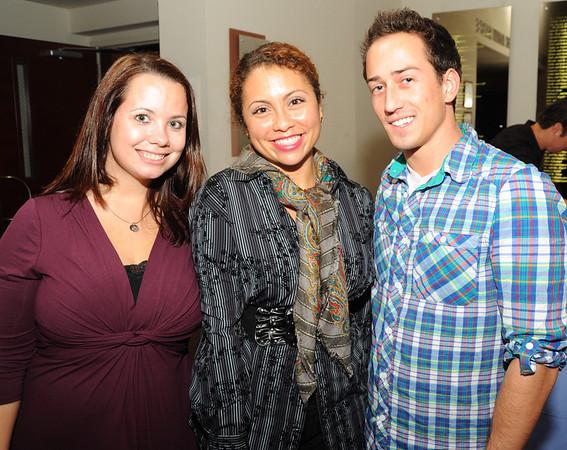 Amanda Zirpoli, Anjdi Santiago, and Matt Laskowski.  Anjdi plays the female character in the movie.