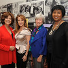 Co-Chairs Rosemarie Greco and  Lynn Yeakel with two of the women they are honoring during the 2 day series. Actress Jane Seymour, and Mae Jemson, the first African-American woman in space. She is also founder and president of two medical technology companies.  Actreess Geena Davis was running late so she missed this photo op.