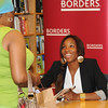 Venus Williams at Borders