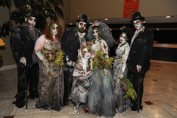 The winners of the Most Horrifying category.  I knew they would win something, they were awesome.