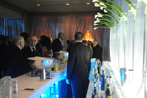 Tickets to the BHI's Black Tie Gala were $400 a person, but that didn't prevent the charitable event from being sold out.  For folks on a budget and of a certain age, usually under 45, there is the Young Friends tickets for $100 per person which includes admission to a cocktail reception and silent auction at 9PM, followed by dessert and dancing in the main ballroom.  The older guests tend to leave the party around 10PM or so, and it doesn't seem crowded.