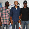 Philadelphia Eagles celebrate teammate's Joselio Hanson's Birthday at Tequila's resturant in Philadelphia, Pa - Jackim Wright & Reggie Berry, and Philadelphia Eagle's player Jeremy Maclin