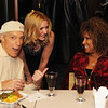 Jerry Blavat, vanessa linck and Darlene Love Saturday night at the VIP party after the concert.  It was the first official Wolfgang Puck catered party at the Kimmel.