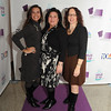 On the purple carpet I found Alicia Patete, Tina Longenecker and Jenn Grenn,