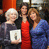 Erica Domesek - PS I Made This had a book signing party at Tory Burch store King of Prussia Mall, Pa last Saturday night with friends and fans.  The biggest fans were these two lovely ladies, her grandmother Shirlee Schachtel, and mom Barbara Wheeler.  Erica is the founder of the innovative Do It Yourself (DIY) brand P.S.-I Made This and has a website psimadethis.com that shows you how. Erica's projects have been featured in publications such as Glamour and Teen Vogue, and she's been on The Today Show and has helped Martha Stewart be crafty. Originally from the Mainline she currently lives in NYC.