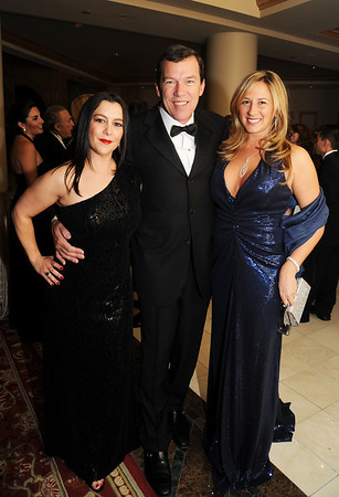 "Ground Zero Philadelphia young socialites: Dana Spain and Sabrina Tamburino-Thorne flanking Steve Thorne.  The Thorne's just celebrated their first anniversary together this past weekend, and they are in love more than ever (I was there to help usher in the event with a few dozen of their close friends).  Dana is busy, busy, busy with her charitable organization PAWS organization. Dana tells me that this past weekend's ""4th Annual Mutt Strut"" made over $100,000 after more than 1,000 people participated in the annual event."