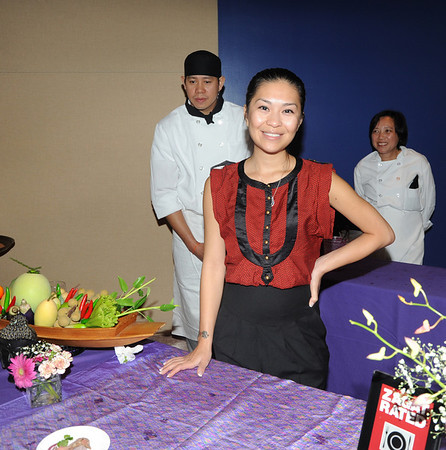 Moon Krapugthong, with Ken and Solena Diep Dumrongkitmon from Mango Moon/Chabaa Thai, Manayunk
