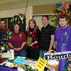Chamber President Shane Frye with Best Booth in Show - Non-Profit winners from Redeemer Lutheran Church.