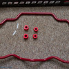 The front is 2 way adjustable and the rear is three way adjustable.  Planning on setting it to the soft setting in the front and the medium setting at the rear.  The Soft all the way around is itself supposed to provide much better handling than OEM.  Can't wait to get these on the car :-)