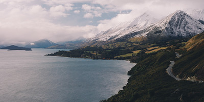 The Road to the White mountains - Queenstown, New Zealand