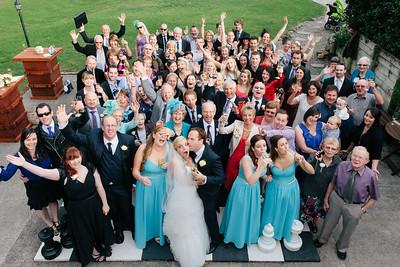 Wedding chessboard formal